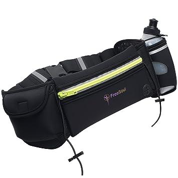 Freesoul impermeable Running bolsa cinturón de hidratación, 1 sin ...