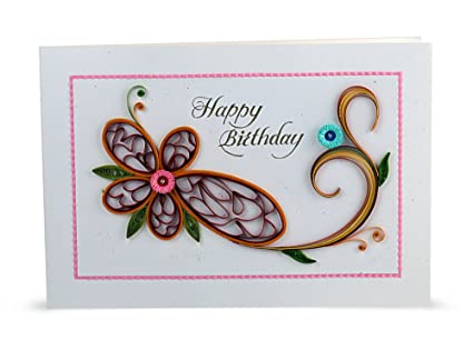 Handcrafted Emotions Handmade Birthday Greeting Card Amazon