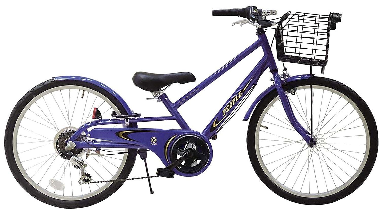 People(ピープル) いちろく自転車 クロスバイクスタイル B01MTV6NOXインディゴブルー 20インチ