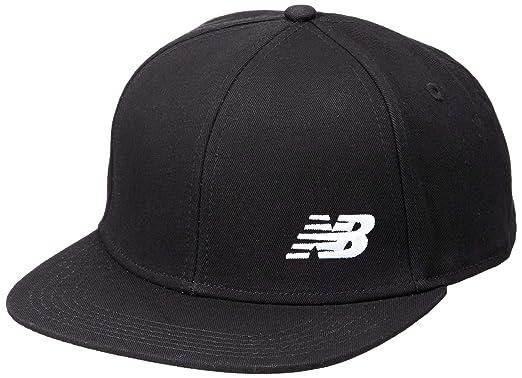 d4f3d2f99afa3 [ニューバランス] NBロゴスナップバック 帽子 メンズ ブラック(BK) 日本 OSZ (