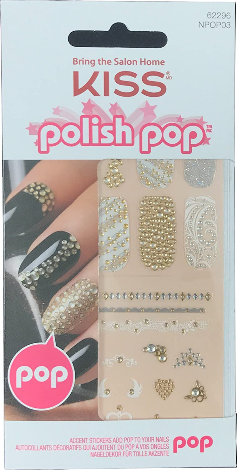 Amazon.com: Kiss Polish Pop Nail Art (Main Street-NPOP03): Beauty