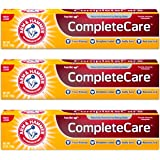 ARM & HAMMER Complete Care Fluoride Anticavity Toothpaste, Fresh Mint 6 oz (Pack of 3)