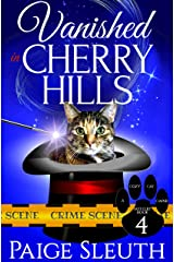 Vanished in Cherry Hills (Cozy Cat Caper Mystery Book 4) Kindle Edition