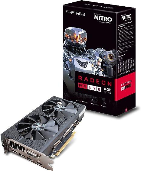 SAPPHIRE NITRO Radeon RX 470 4GB GDDR5 Video Card