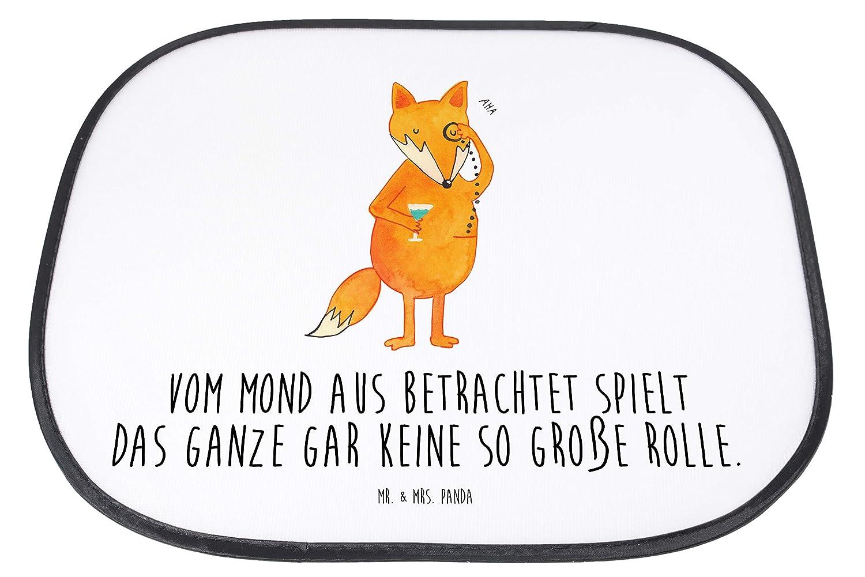 Panda Geschenk Mr Farbe Blau Pastell Familie /& Mrs Auto Sonnenschutz Fuchs Lord mit Spruch