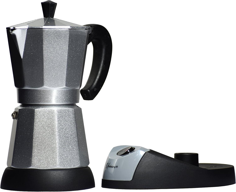 Amazon Com Uniware Electric Bialetti Moka Espresso Maker 6 Cups Espresso Cups