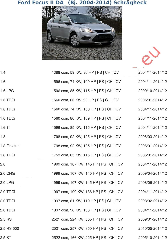 col de cygne d/émontable avec outil Ford C-Max de 2004 /à 2011 Attelage remorque avec Faisceau 13 broches Ford Focus II