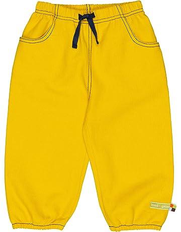 aeea3f12fedbc Loud + Proud Hose Rippenstruktur, Aus Bio Baumwolle, Gots Zertiziziert,  Pantalon Fille