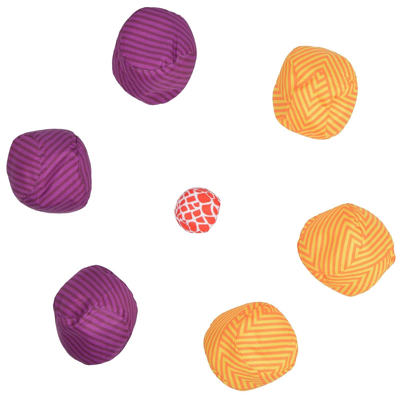 Boule / Petanque John Soft Boccia sicheres Bocciaspiel mit Softbällen