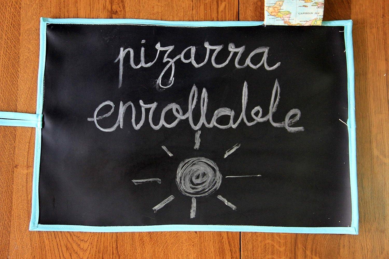 PIZARRA PORTÁTIL ENROLLABLE | VARIOS ESTAMPADOS | DOS TAMAÑOS | HECHA A MANO | VACACIONES EDUCATIVAS
