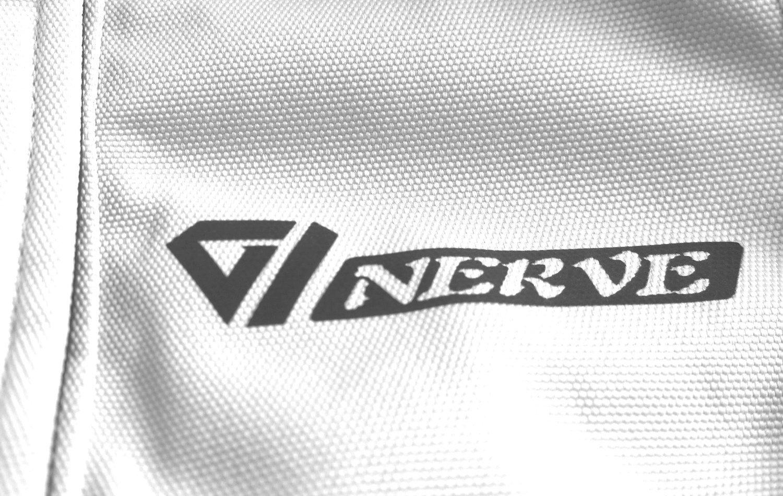 Nero NERVE 23140151/_06 Giacca da Donna Moto Artemis Bianco 44