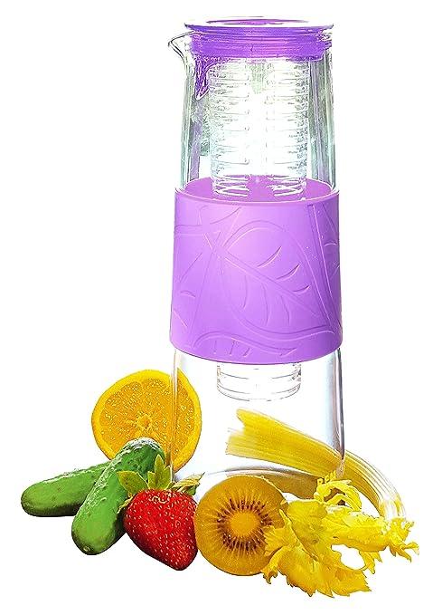 Amazon.com: Jarra infusora de agua – 1 qt jarra de vidrio ...