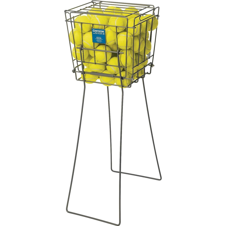 GAMMA Sport Tennis ballhoppers–langlebig, praktisch, robuste Konstruktion, für Tennis Ball Pickup, Transport und Aufbewahrung, (verschiedene Designs/Kapazitäten zu halten 50, 55, 75, 90, 110, 140Bälle) für Tennis Ball Pickup 140Bälle) Unisex Risette Pl
