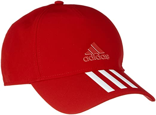 64182b9a4e466 ... uk adidas red unisex c40 3s climalite cap 78817 588f5