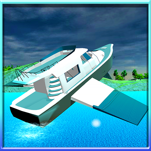 Flying Yacht Boat Simulator (Driver Boat)