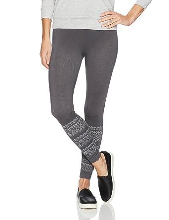 a9ac960856d43d MUK LUKS Women's Pattern Leggings at Amazon Women's Clothing store: