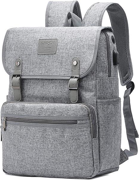 Lightweight Gray Pills Pattern Backpack Waterproof Book Bag for Men Women