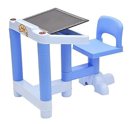 Buy Stepupp Kids Plastic Portable Folding Table Chair Set For