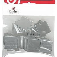 Rayher - 14548606 - Spiegelmosaik, selbstklebend., 3x3cm, SB-Btl 45Stü