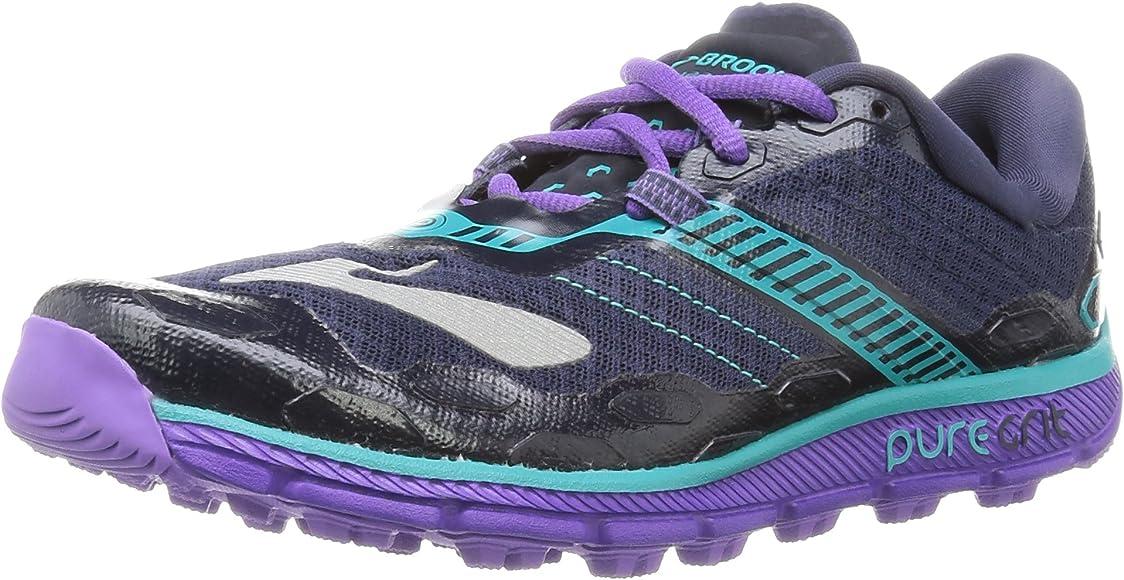 Brooks Puregrit 5, Zapatillas De Running para Mujer, Gris (violett ...