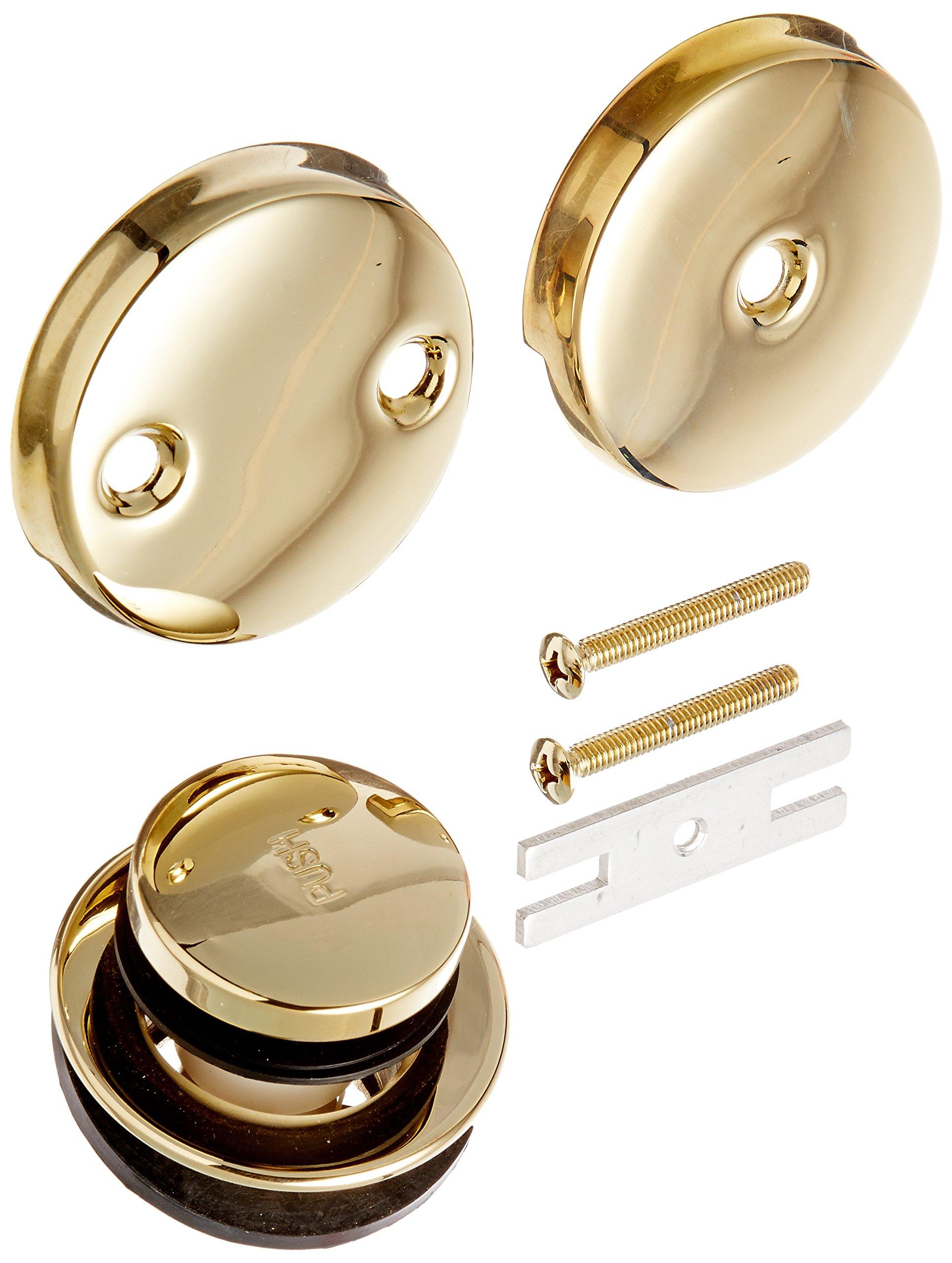 Danze D490650PBV Touch-Toe Bath Drain Conversion Kit, Polished Brass PBV