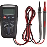 AmazonCommercial 2000 Count Compact Digital Multimeter, NCV, Flash Light, CATIV 600V