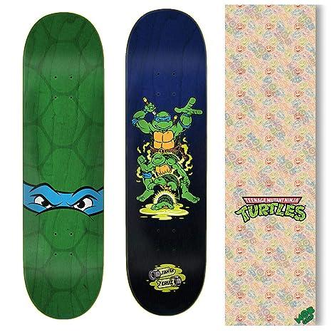 Santa Cruz Skateboard Deck Teenage Mutant Ninja Turtles Leonardo + Mob Clear