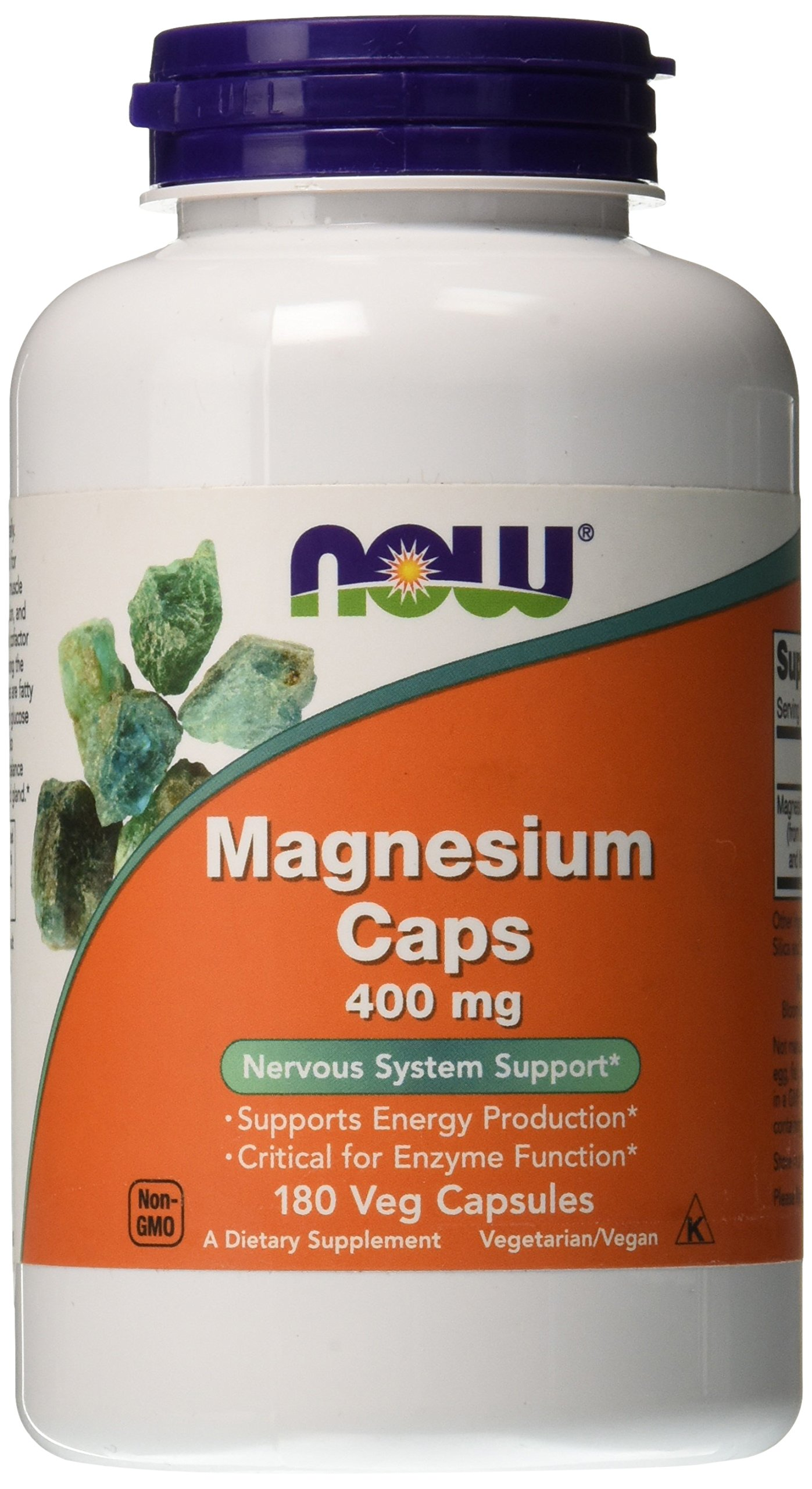 Now Foods Magnesium 400 MG Capsules
