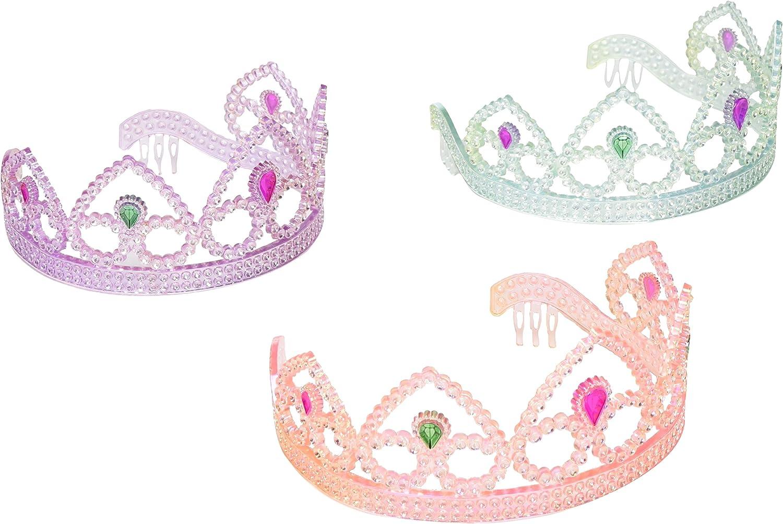 Princess Tiara Crown HOT Pink Plastic Girls Party Hen Night Girls Night 1pc