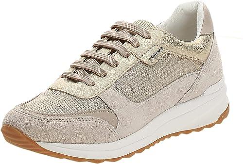 enjuague sector Nuez  Geox D Airell C, Baskets Basses Femme: Amazon.fr: Chaussures et Sacs