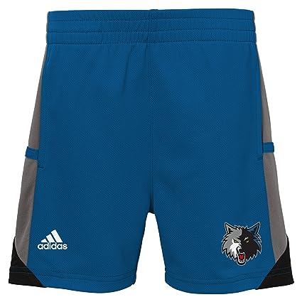 NBA Toddler Minnesota Timberwolves Possession Tee   Short Set-Capital  Blue-2T be682032c