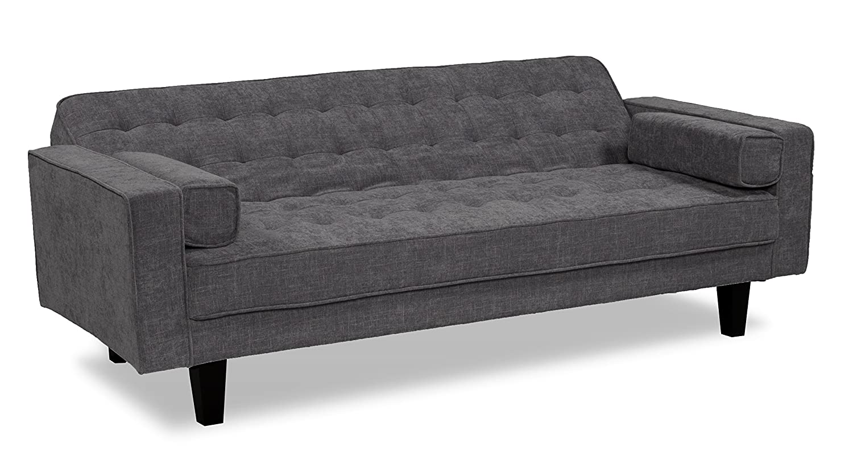 Amazon.com: Serta Dream Convertible Bahama Sofa, Steel ...