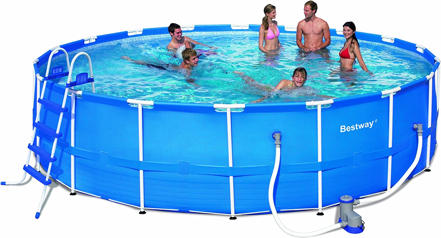 Bestway 56061US Steel Pro Above Ground Pool, 12' x 30""