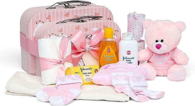 Bebé caja y Set de regalo rosa rosa Talla:x-large: Amazon.es: Bebé