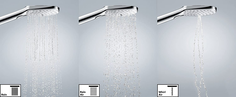 Chrom hansgrohe Raindance Select S 120 Duschhalterset inkl Duschschlauch 1,25m