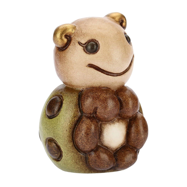 Thun® - Mini Coccinella Verde Collezionabile serenità - Animali Soprammobile da Collezione - Ceramica - I Classici