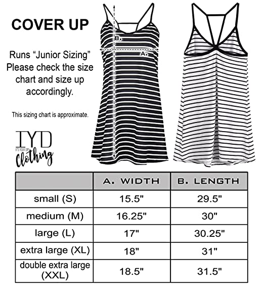 c33e04a062 It's Your Day Clothing Gold Mrs. Striped Swimsuit Cover Up Honeymoon Bride  Beach Dress at Amazon Women's Clothing store: