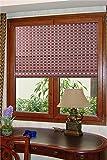 Natural Bamboo Roll Up Window Blind Sun Shade