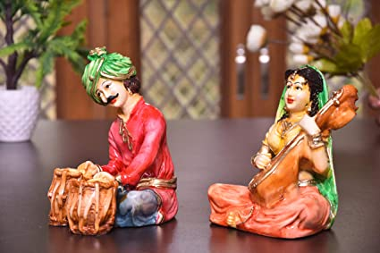 MARINERS CREATION Rajasthani Showpiece