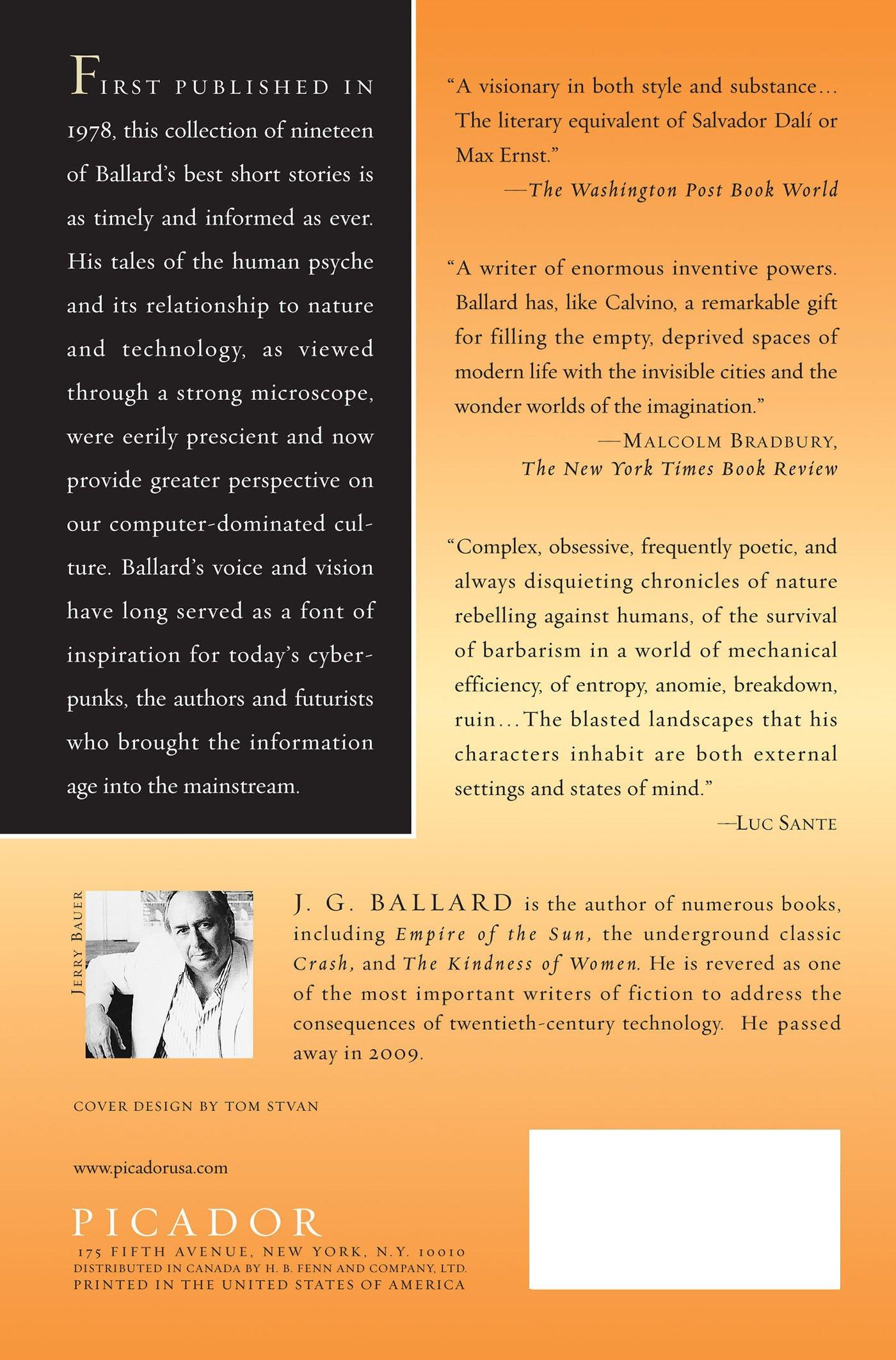 The Best Short Stories Of J G Ballard: J G Ballard, Anthony Burgess:  9780312278441: Amazon: Books