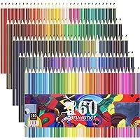 Laconile 160 oleistych kredek, żywe kolory, wstępnie zaostrzone, dla dorosłych, kolorowanek, artystów, rysowania…