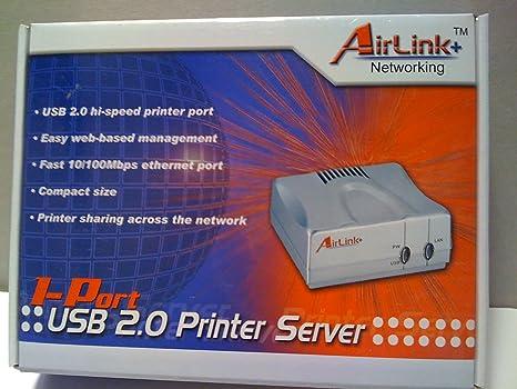 Amazon.com: AirLink + – 1-Port USB 2.0 servidor de impresora ...