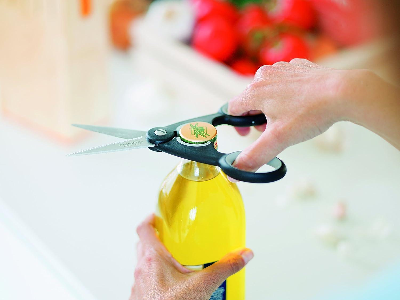 Fiskars Tijeras de cocina, Longitud total: 22 cm, Acero de calidad/Plástico, Functional Form, 1003034
