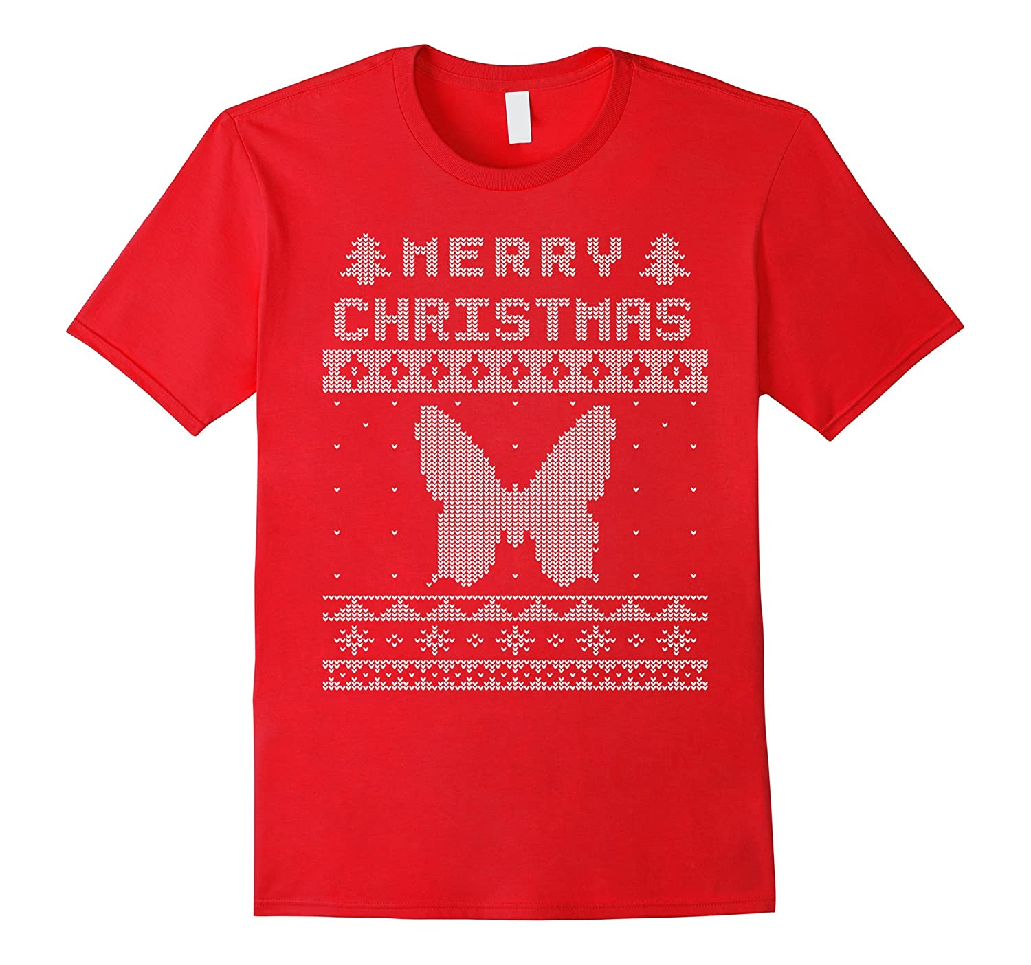 BUTTERFLY Ugly Xmas Sweater - Shirt For XMas Parties-FL