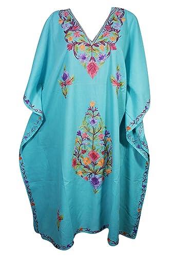 Mogul Interior -  Vestito  - Kimono - Donna Blue-1