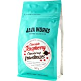 Java Works Coffee Chocolate Raspberry Flavoured Coffees, 340 Grams