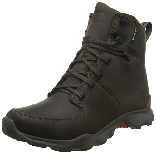 The North Face Thermoball Versa Boot Mens Weimaraner Brown/Bombay Orange 9