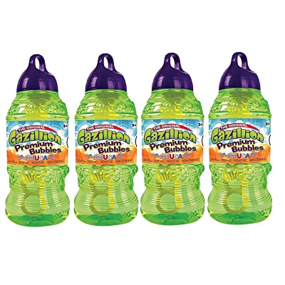 Gazillion 2 Liters Bubble Solution 4 Pack: Toys & Games