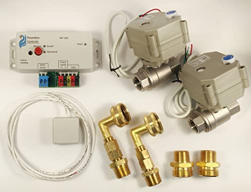 WS-36 Washer Water Leak Detect and Shutoff 1 2 Valves System