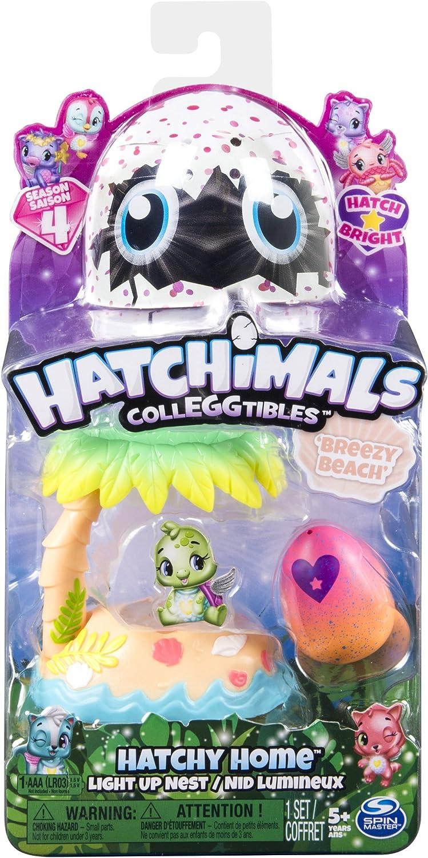 Hatchimal Coleggtibles Breezy Beach Light Up Nest Season 4
